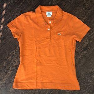 LACOSTE Women's Polo Sz Small